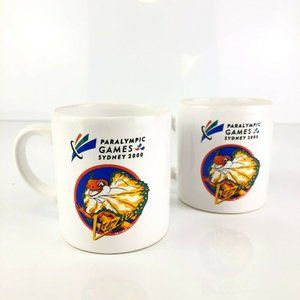 Paralympic Games Sydney 2000 Olympics Lizzie Mugs